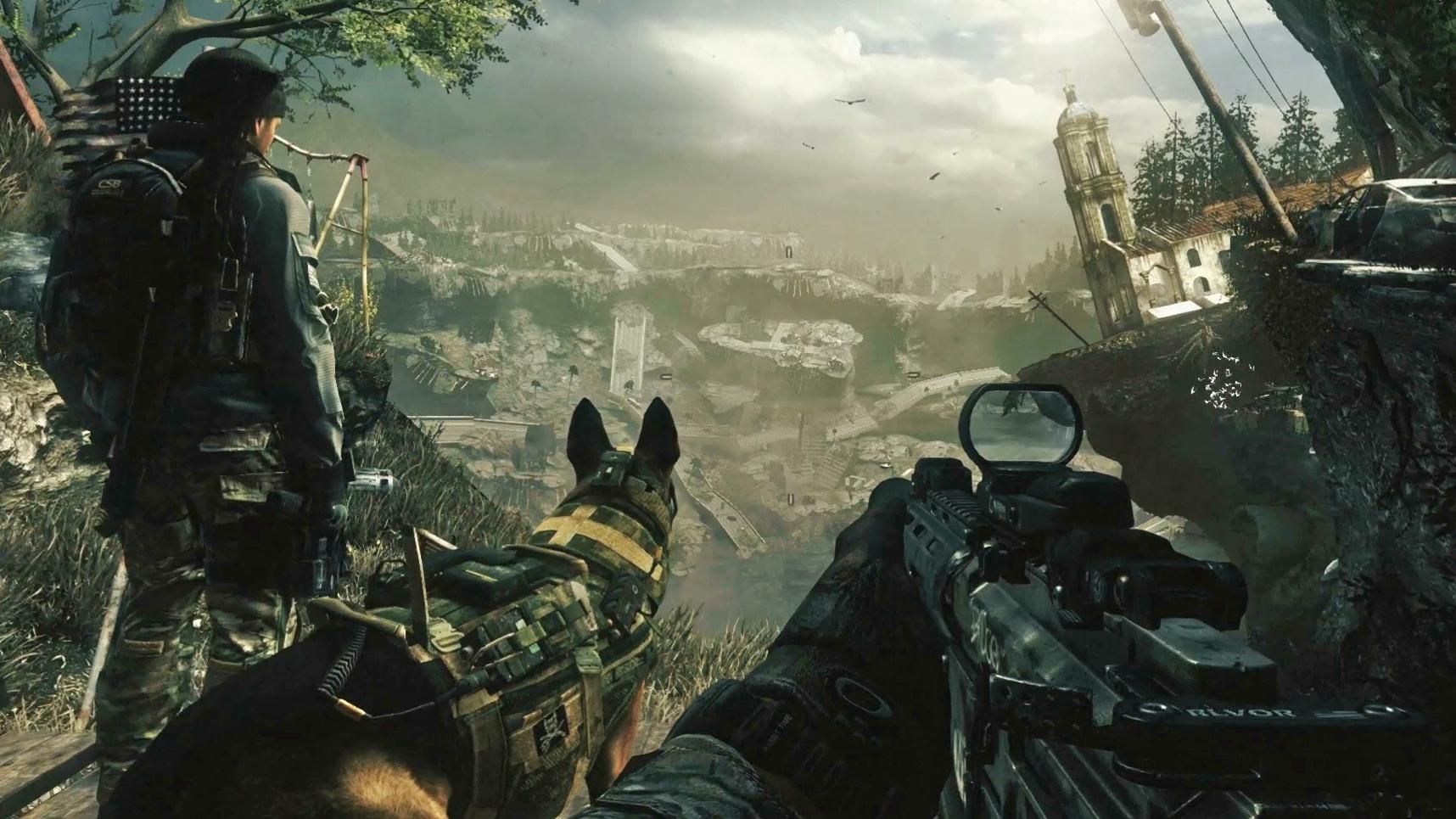 Call Of Duty Ghosts oyun İncelemesi