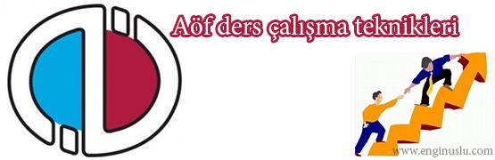 aof-calisma-teknikleri