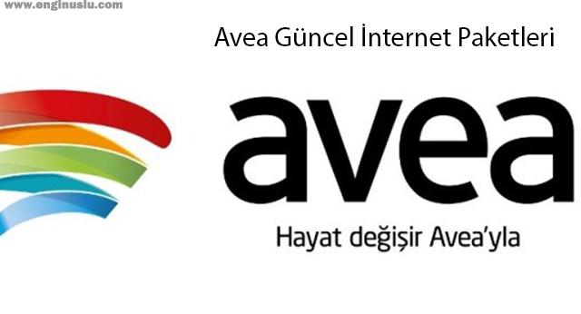 Avea Güncel İnternet Paketleri