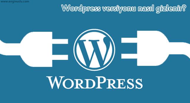 WordPress versiyonu nasıl gizlenir?