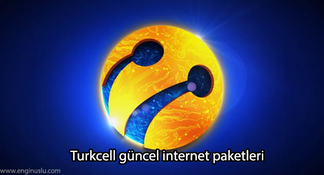 Turkcell güncel internet paketleri