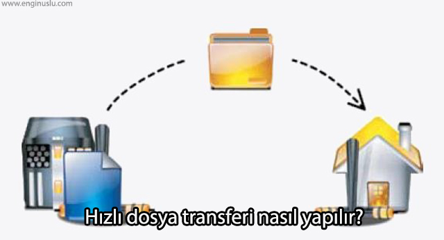 Hızlı dosya transferi nasıl yapılır?