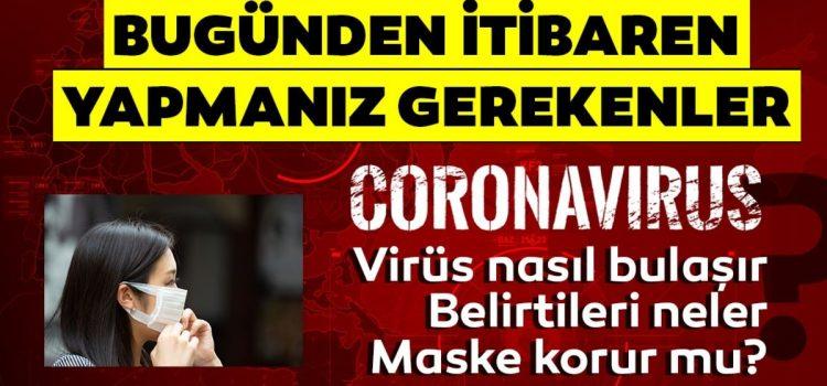 Korona Virüsü Nasıl Bulaşır?