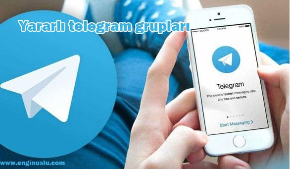 Yararlı telegram grupları