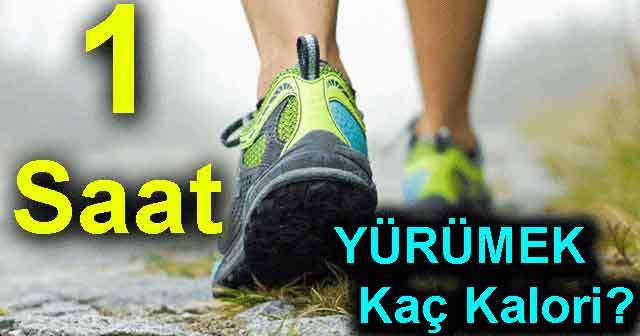 1 Saat Yürüyüş Kaç Kalori?